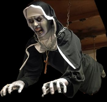 Chained to Ceiling Nun - CCN1228
