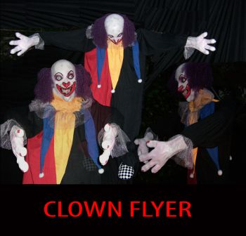 CLOWN FLYER - CLN201