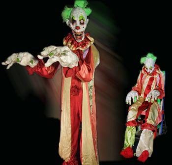 Chair Screamer Clown - CSC527