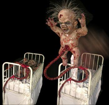 Demon Baby crib - DBC834