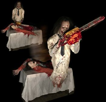 Leatherface Chainsaw Lunger - LCL1127