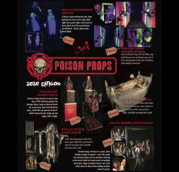 Poison Props 2020 catalog